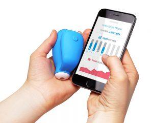 קייגול – אלקטרודה משולבת אפליקציה לתרגול שרירי ריצפת האגן